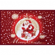 CD.8vE - Christmas Doormat Knitted